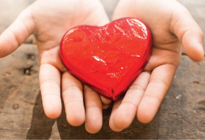 social heart hands