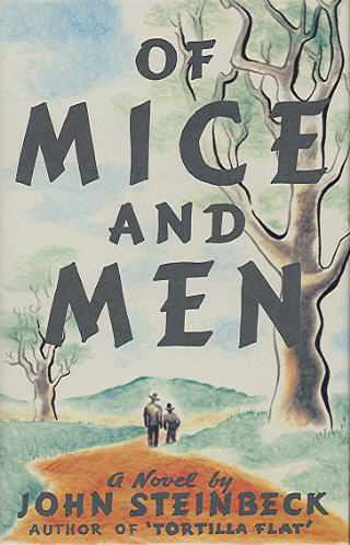 an illustration of some of the problems that initiate george to act in of mice and men by steinbeck
